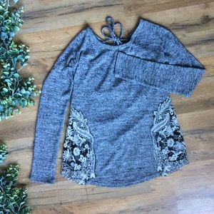 Charming Charlie | Lace detailed Top
